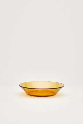 Duralex Amber Cocktail Plate