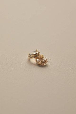 Fritz Hoop Earrings