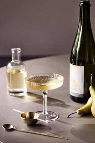 Ferm Living Ripple Champagne Saucer Set