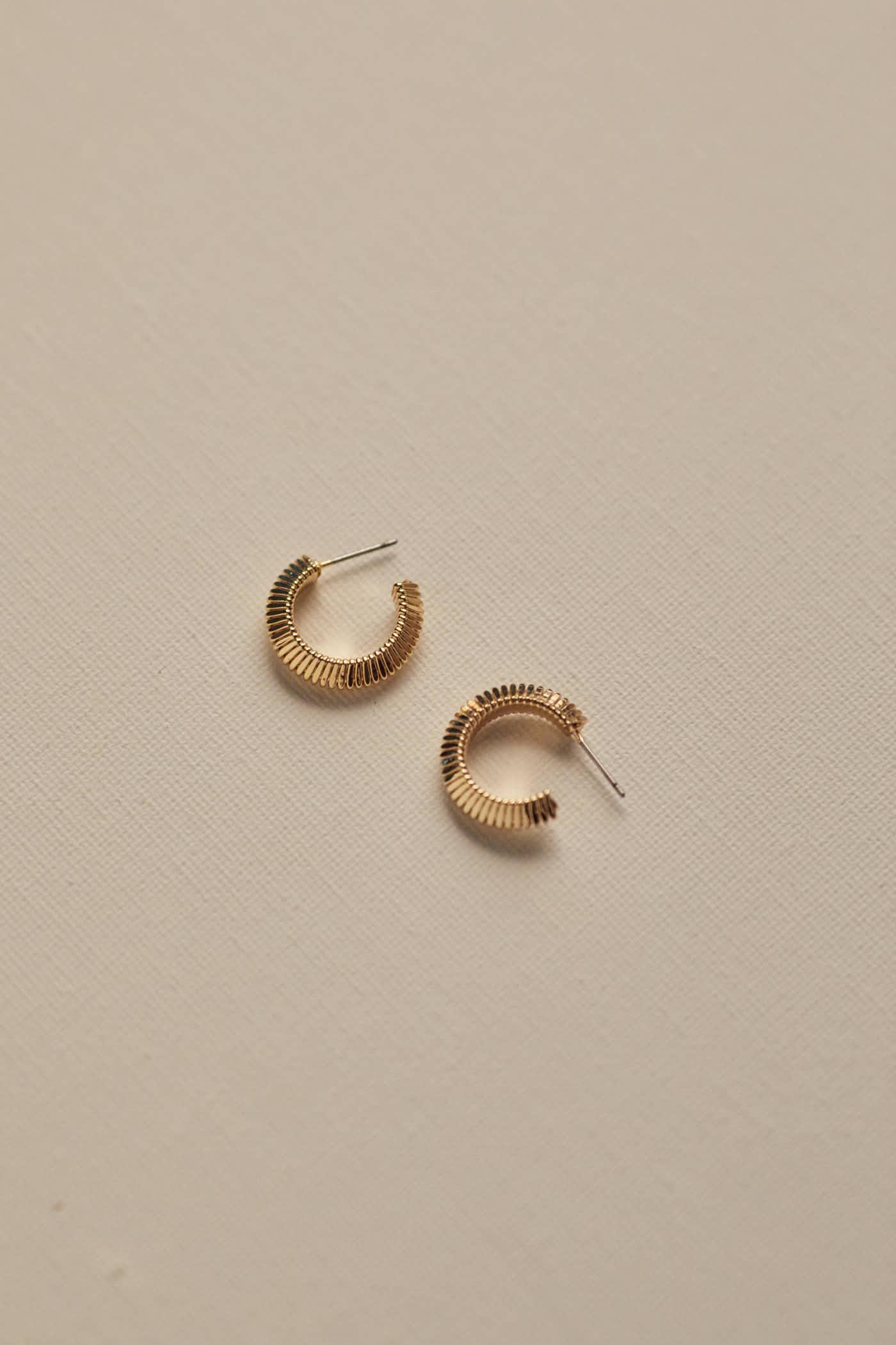 Camille Hoop Earrings