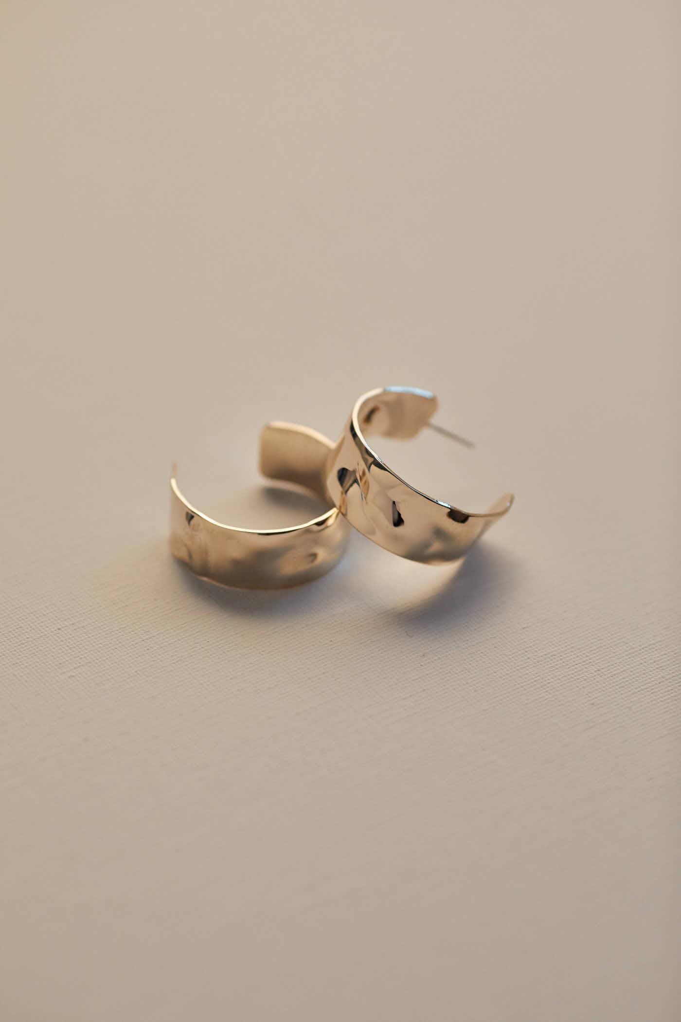 Levana Hoop Earrings