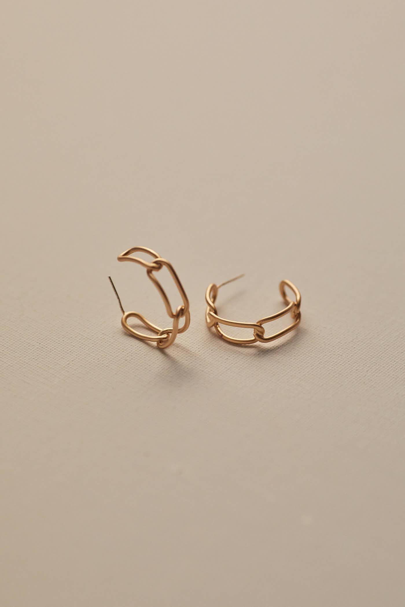 Gada Hoop Earrings
