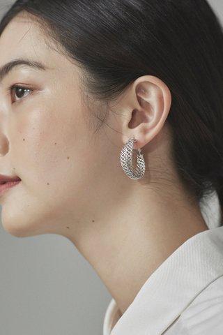 Brett Hoop Earrings