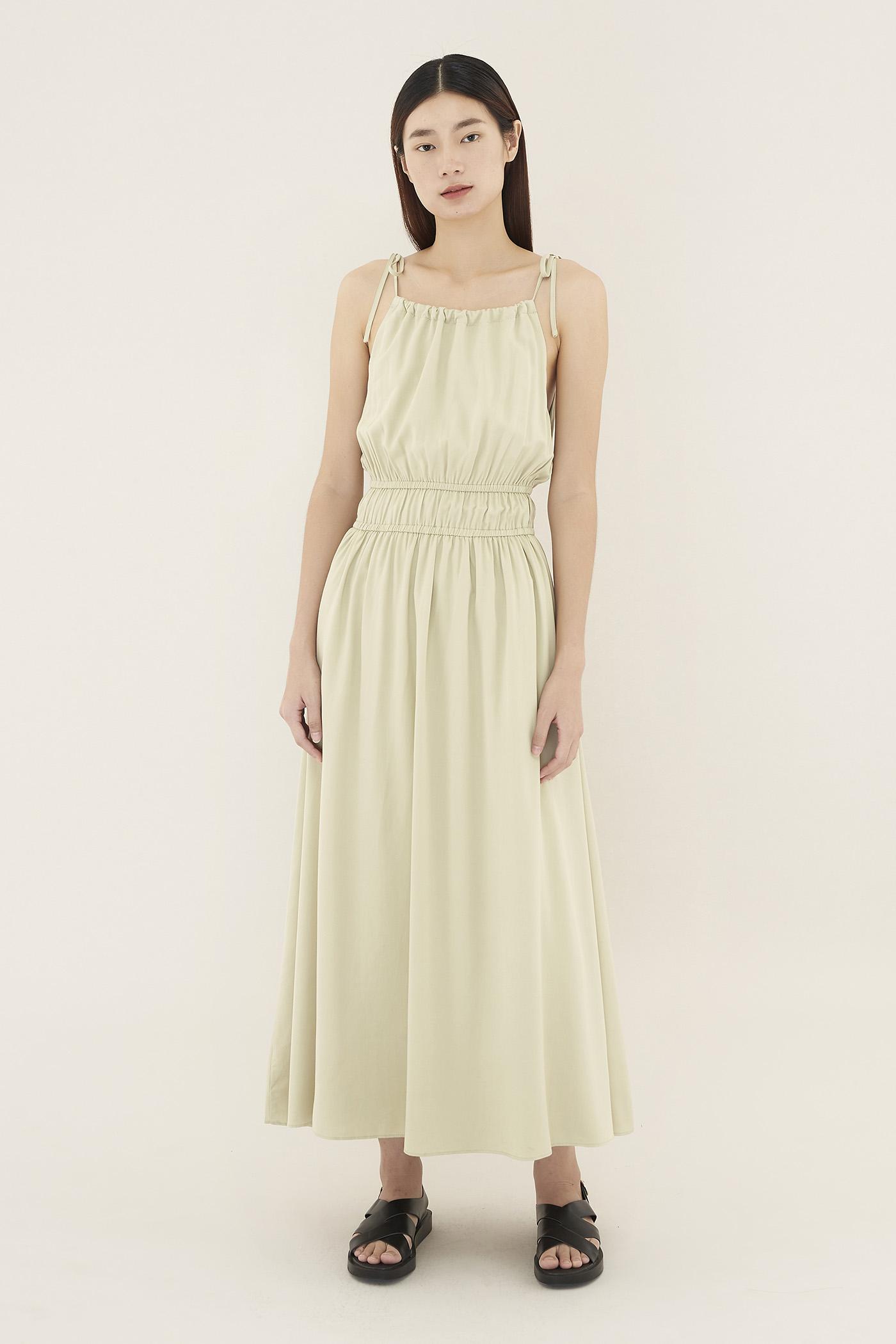 Joleesa Gathered-waist Dress