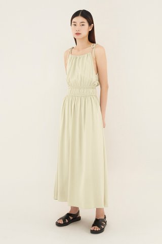Joleesa Gathered-waist Dress
