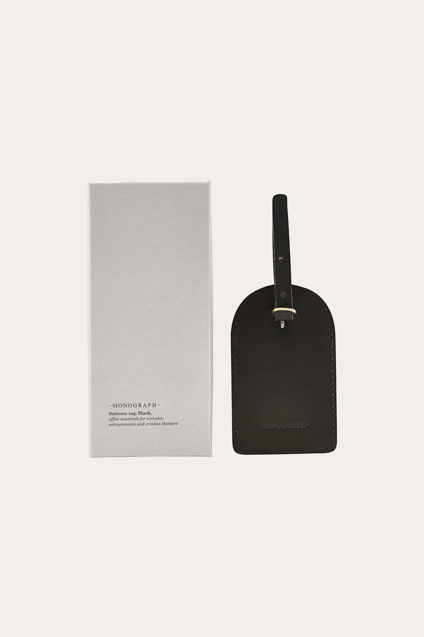 Monograph Suitcase Tag