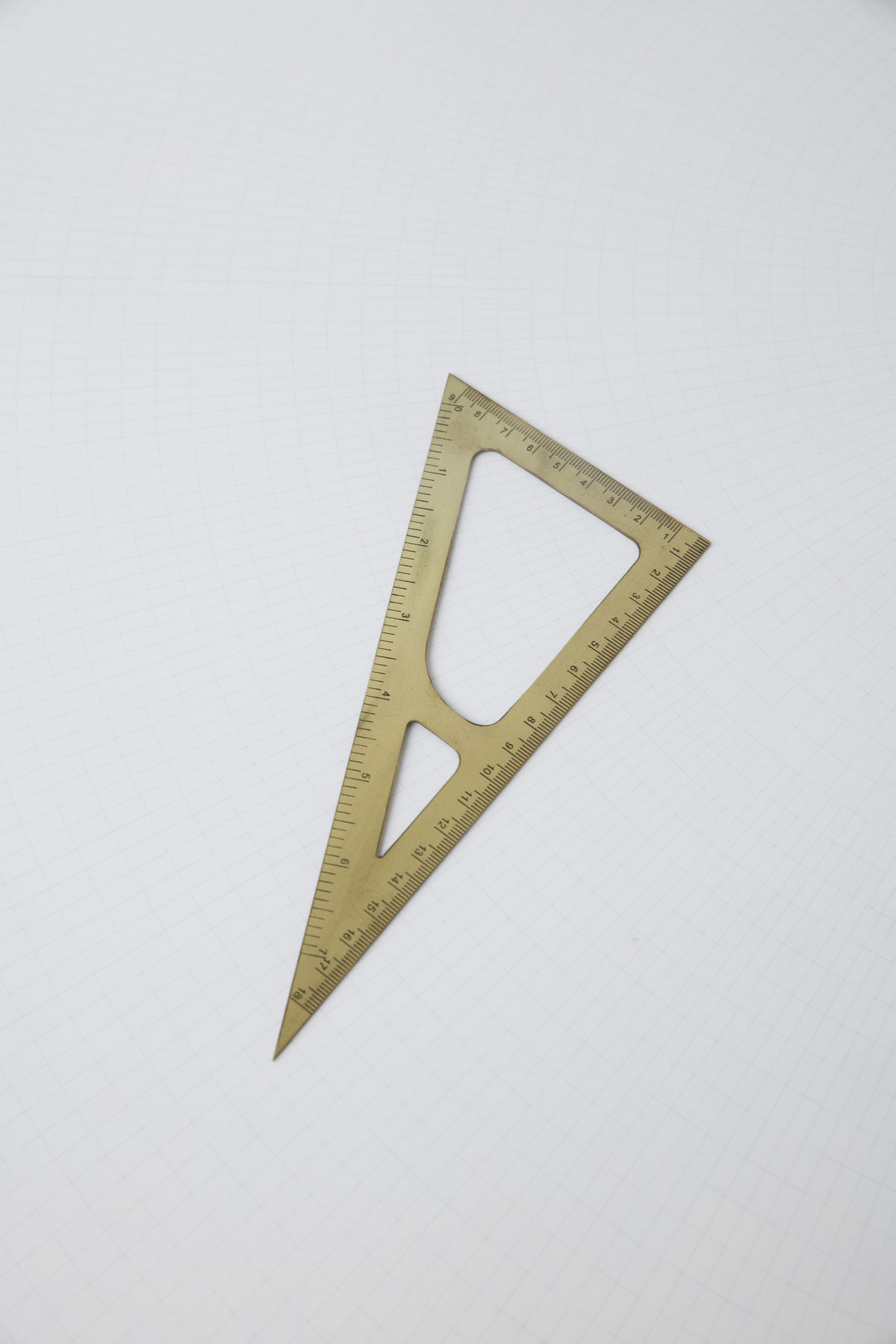 Monograph Triangle Ruler