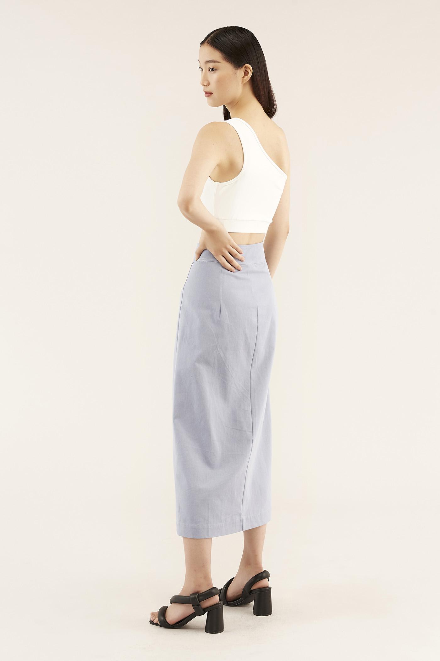 Lovena Button-through Skirt