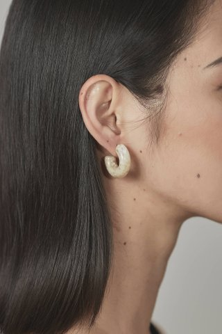 Pelle Hoop Earrings