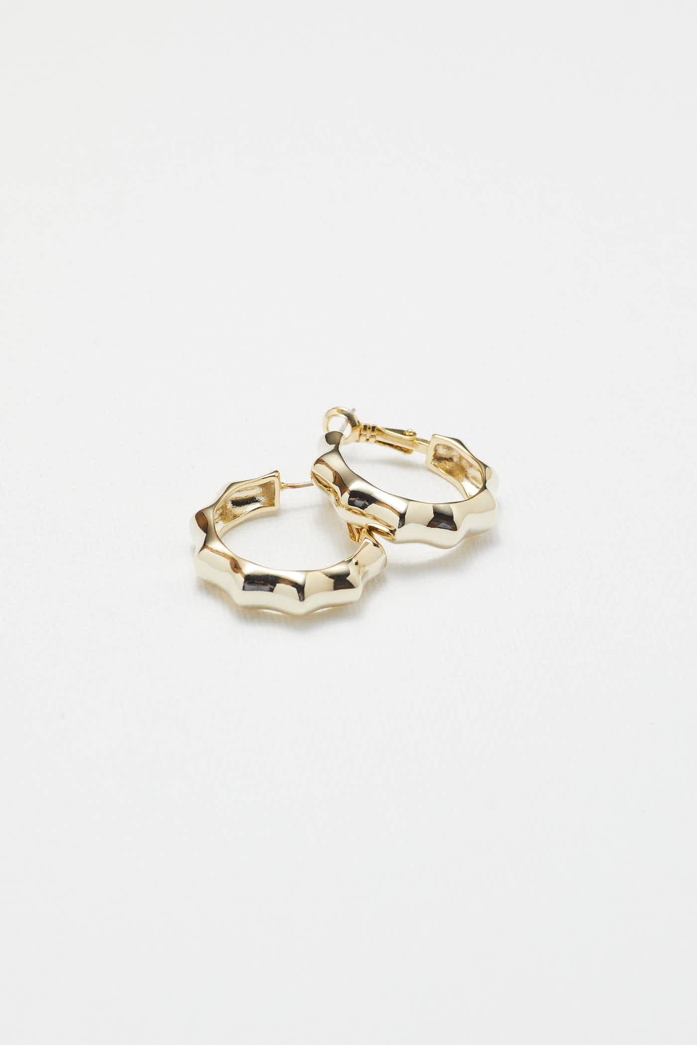 Charlee Hoop Earrings