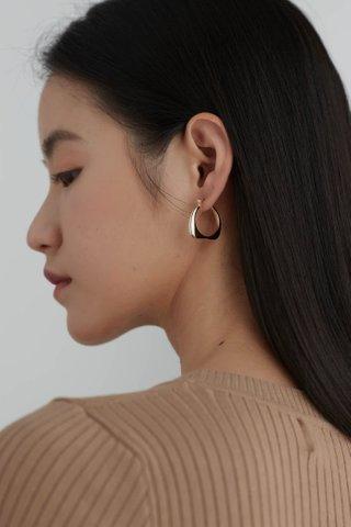 Autumn Hoop Earrings