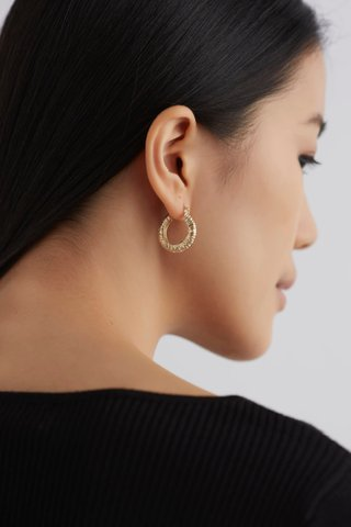 Zande Hoop Earrings