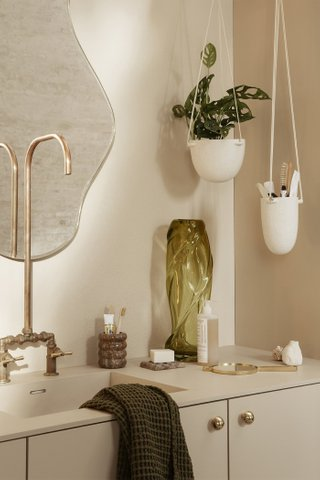 Ferm Living Speckle Hanging Pot