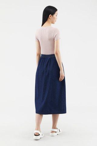 Rubby Button-through Skirt