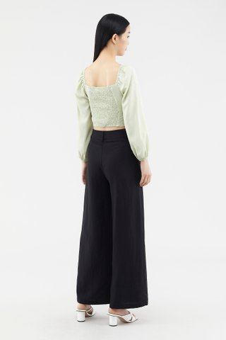 Danette Puff-sleeve Blouse