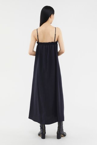 Dawina Ruched-back Dress