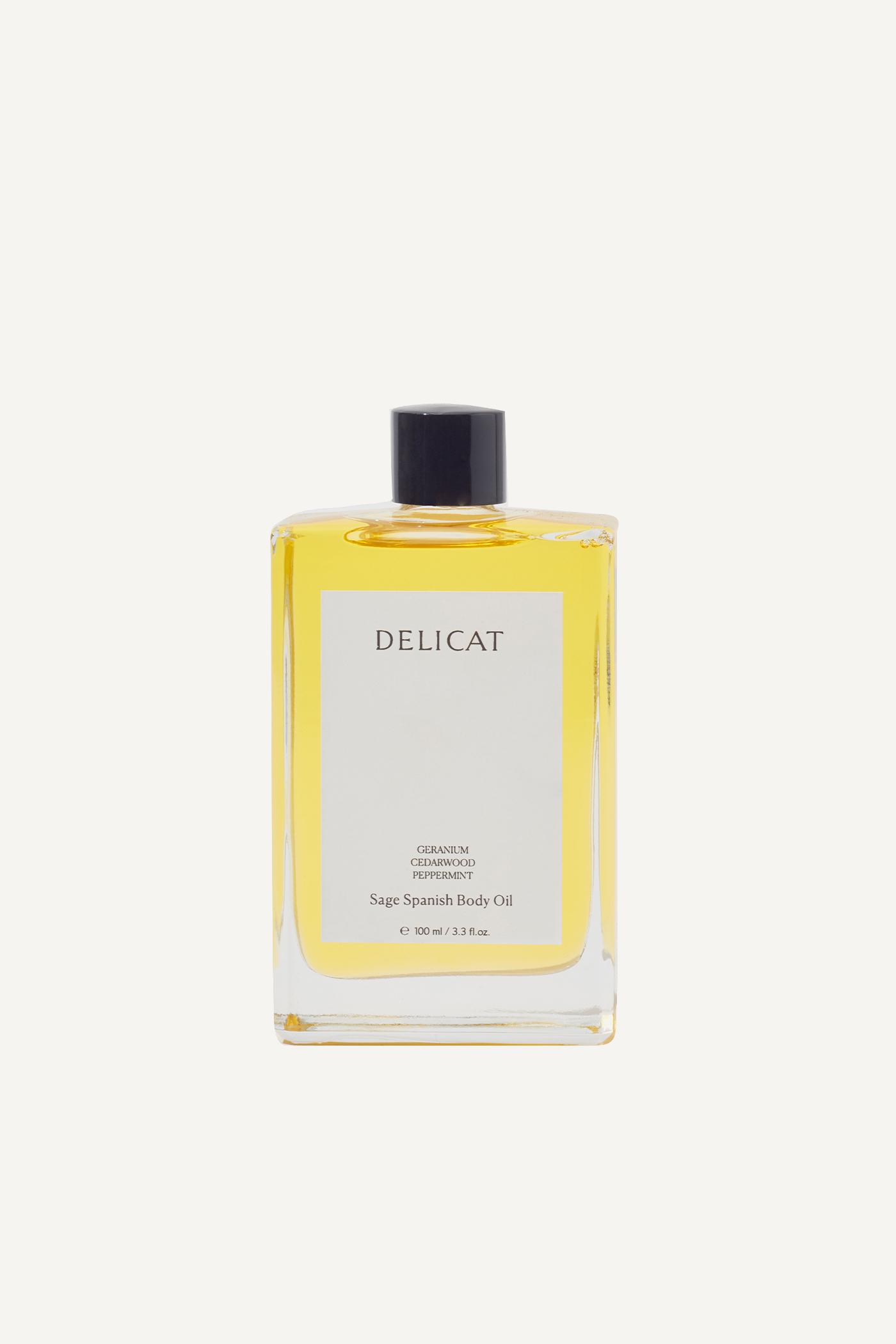 Delicat Sage Spanish Body Oil