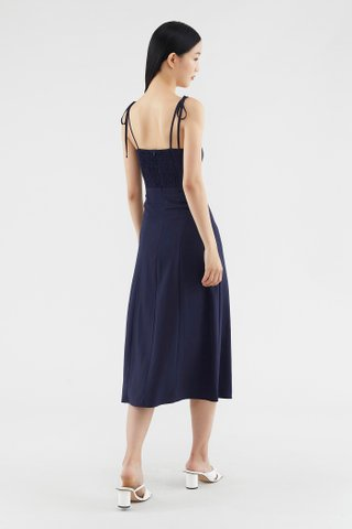 Claralyn Side-slit Dress