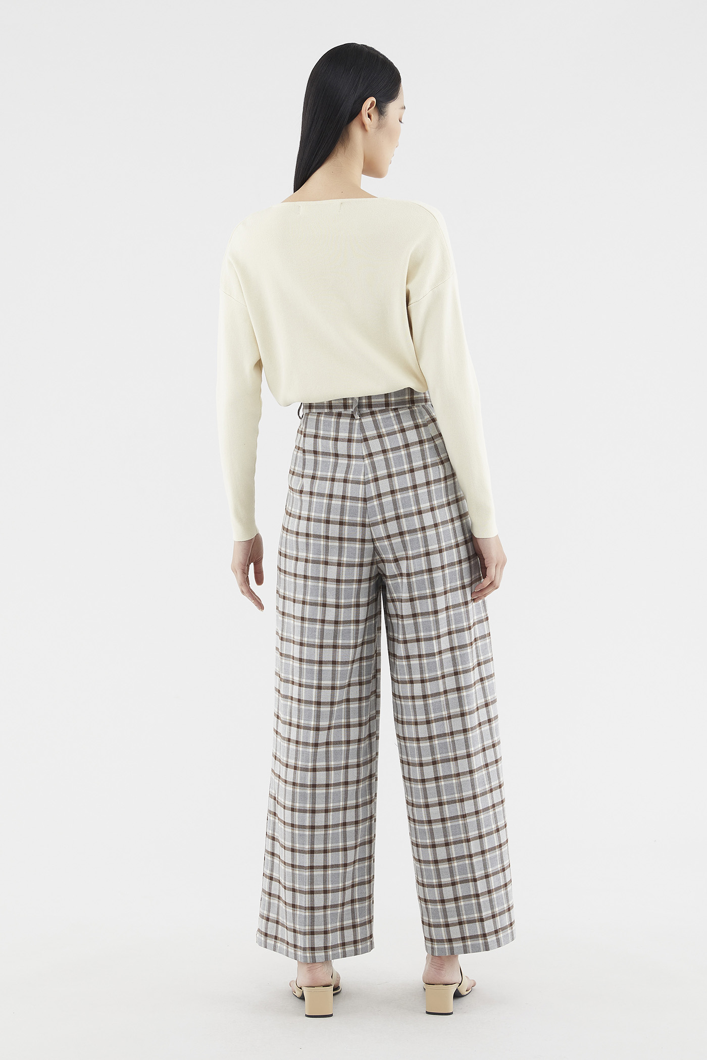 Ranita Check Pants