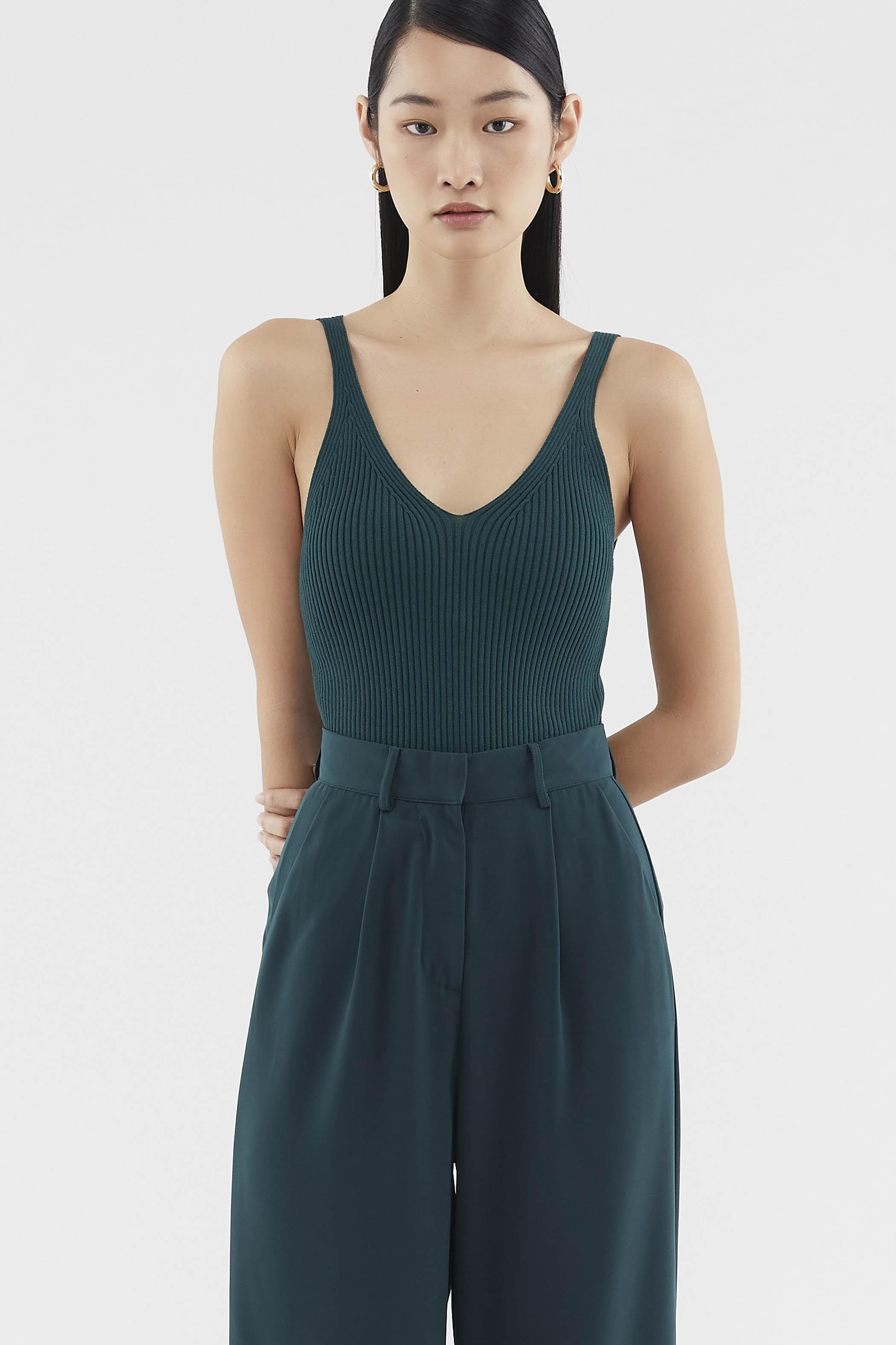 Addyson V-neck Knit Top